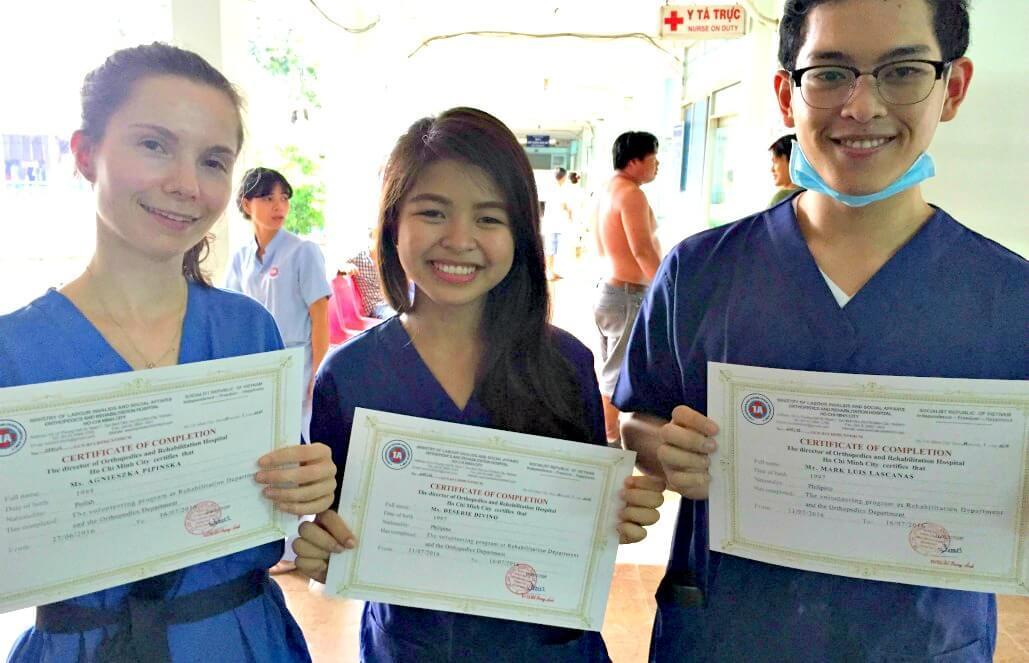 וייטנאם – סיוע רפואי בהו צ'י מין