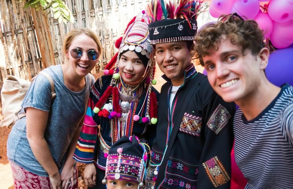 תאילנד – התנדבות עם שבט האקה