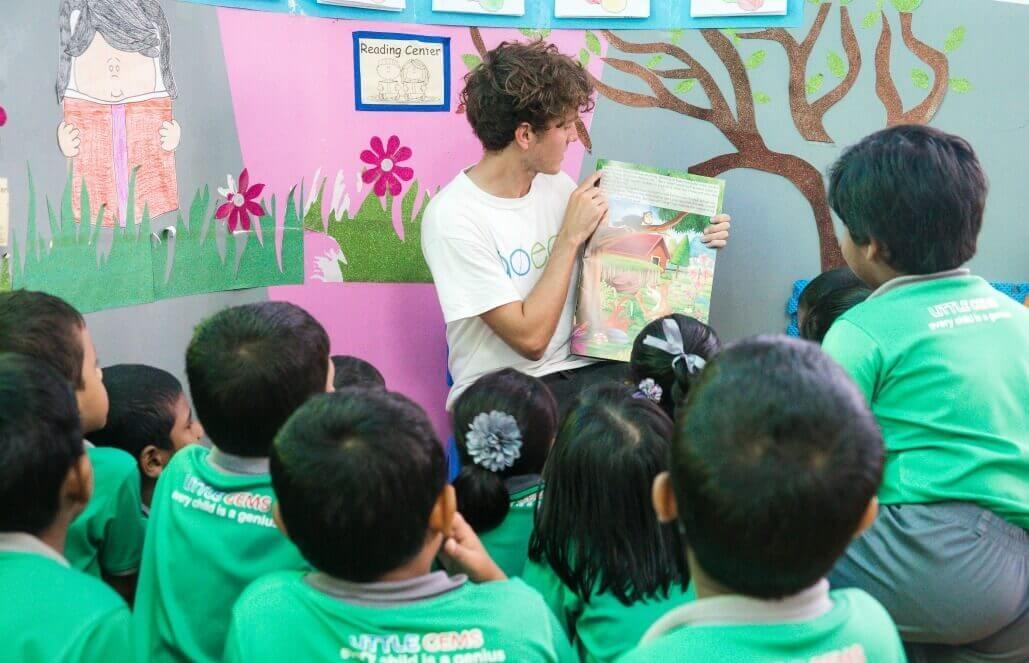 מלדיביים – סיוע בגן ילדים