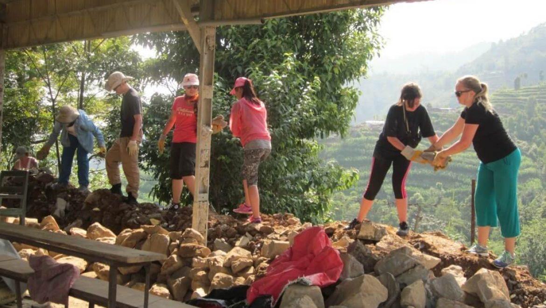נפאל – שיפוץ ובנייה קהילתית