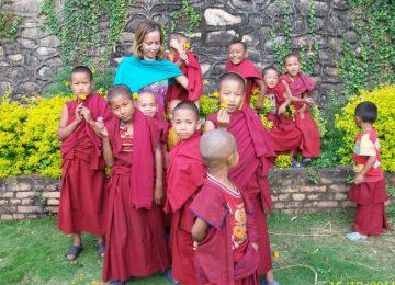 נפאל – הוראת אנגלית במנזרים בודהיסטיים