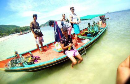 תאילנד-בנייה ופיתוח קהילתי בחופי קוסמוי