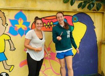 ברזיל – הוראת אומנות לילדים בריו דה ז'נירו
